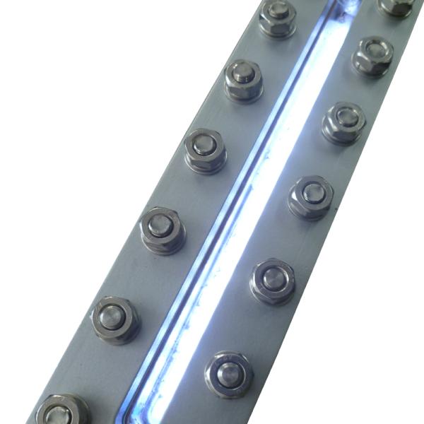 podświetlenie LED do płynowskazów transparentnych